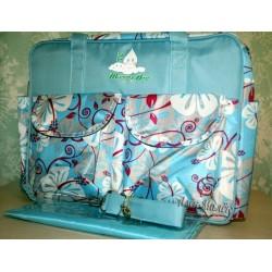 Велика сумка для мами / на дитячий візок Mammy Bag (Blue)