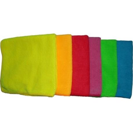 Микрофибровые полотенца