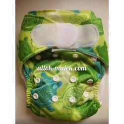 Багаторазові підгузники Bumkins З ВКЛАДИШЕМ (Green turtles)