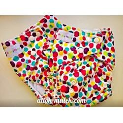 Багаторазовий підгузник Snappy Nappy (Skittles)