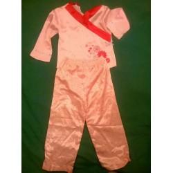 Шелковая пижамка на возраст 2-3 года