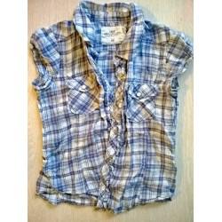 Хб рубашка на кнопках H&M. 128(7-8 лет)