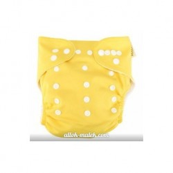 Многоразовый подгузник Snappy Nappy (Yellow)