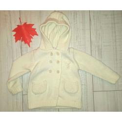 Гарний теплий светр з капюшоном