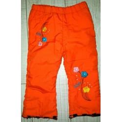 Утепленные штанишки на байковой подкладке. 3-4 года