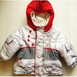 Тепла зимова куртка 80 розмір.