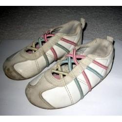 Кроссовки , шнурки-резинки, 24 размер