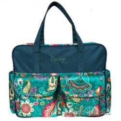 Велика сумка для мами / на дитячий візок (Green)