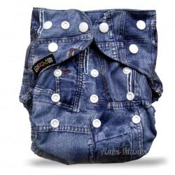 Многоразовый подгузник для бассейна Little Bloom 3-17 кг (Jeans)