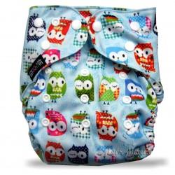 Багаторазовий підгузник для басейну Little Bloom 3-17 кг (Blue Owl)