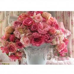 """Алмазная вышивка 40 х 30 см """"Розы"""""""