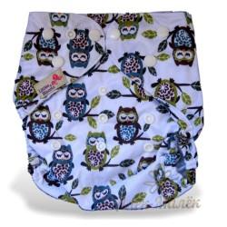 Многоразовый подгузник для бассейна Little Bloom 3-17 кг (Sleeping Owls)