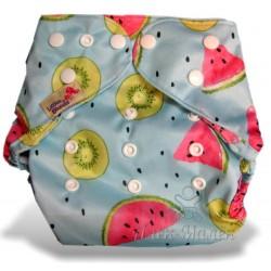 Багаторазовий підгузник для басейну Little Bloom 3-17 кг (Кавун та Кiвi)