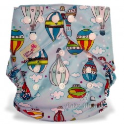 Багаторазовий підгузник для басейну Little Bloom 3-17 кг (Hot Balloons)
