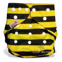 Многоразовый подгузник для бассейна Little Bloom 3-17 кг (Bee)